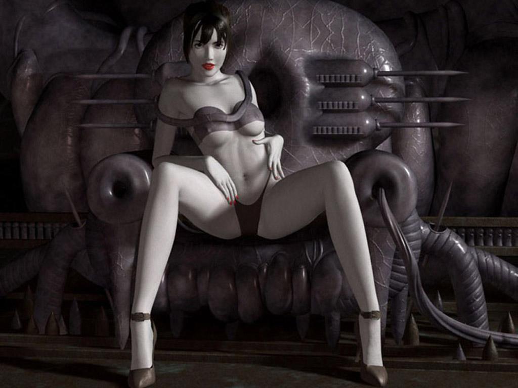 fond d'écran 3D femme