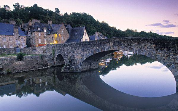 fond d'écran paysage Dinan, Bretagne, France 1920x1200