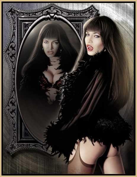 image vampire gothique