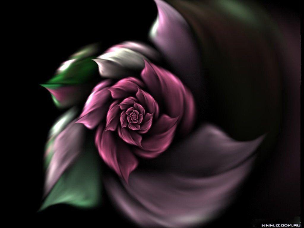 Fonds d ecran fleurs for Fond ecran 3d