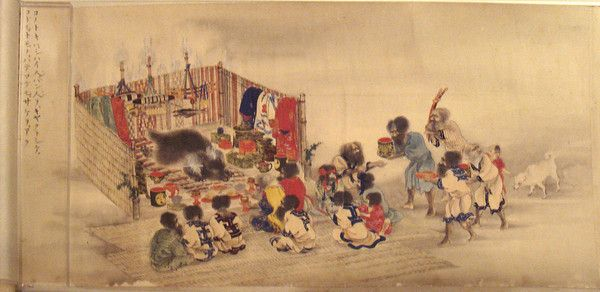fond d'écran peinture japonaise traditionnelle