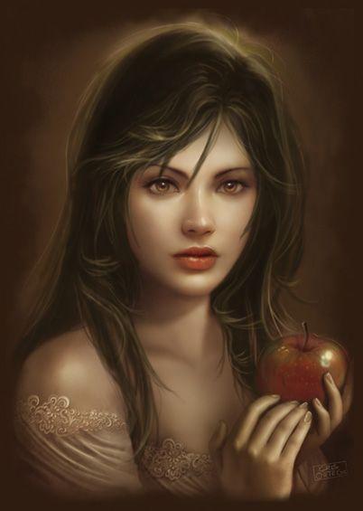 image la femme et le fruit défendu