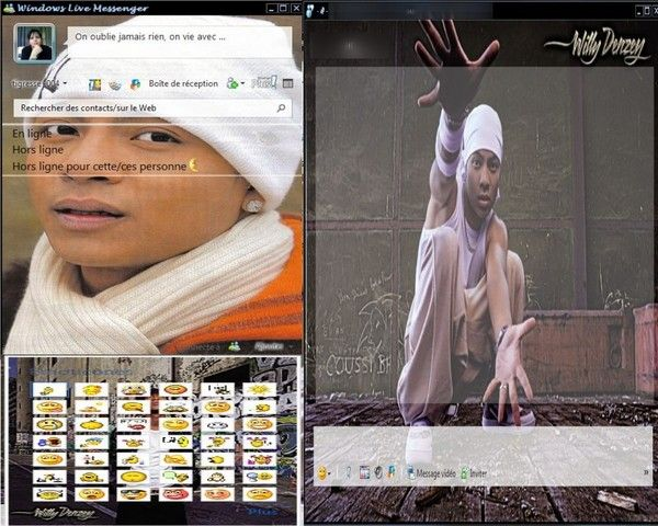 Skin Plus ! Willy Denzey 2011 fait par moi ^^