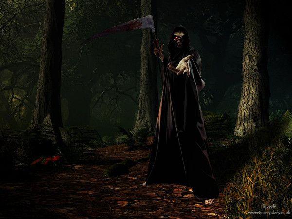 fond d'écran la mort vient te chercher
