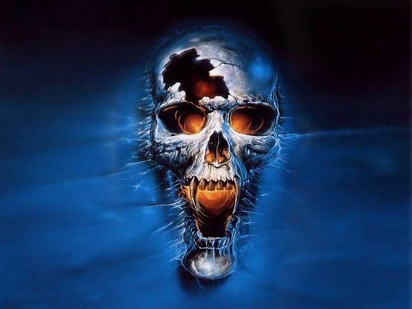 fond d'écran tête de mort