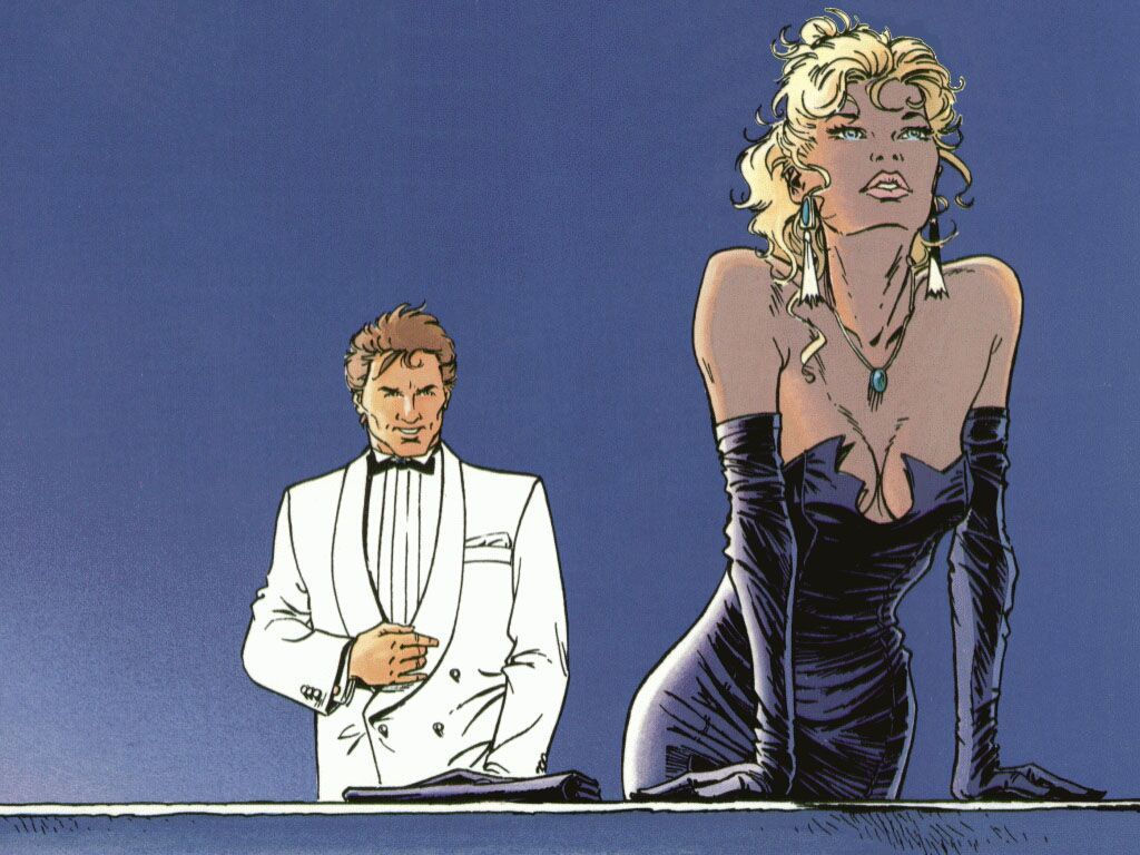 fond d'écran Largo Winch