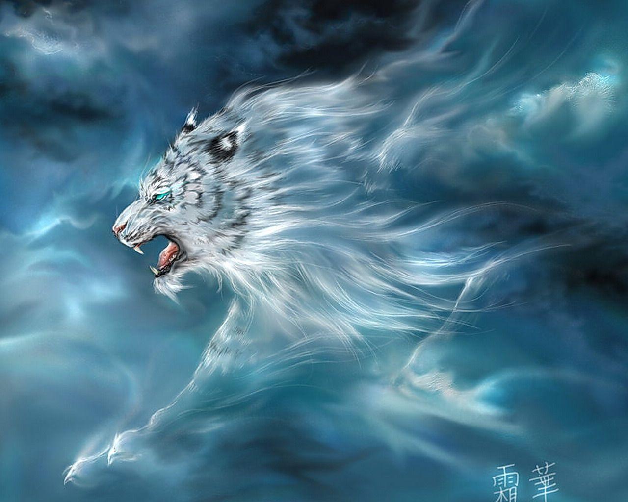 Fond D Ecran Tigre 3d