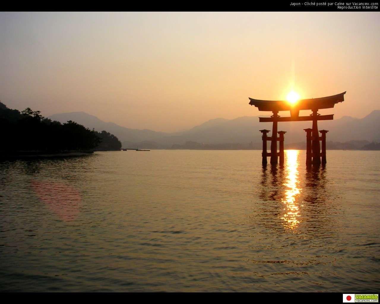Scenery wallpaper fond ecran gratuit paysage japon for Fonds ecran paysages superbes