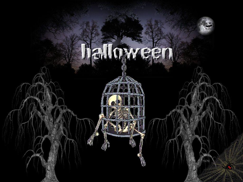 Scenery wallpaper fond d 39 cran gratuit qui fait peur - Image halloween drole ...