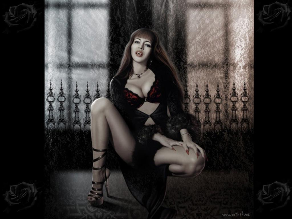 Vampire girls nu fucking scene