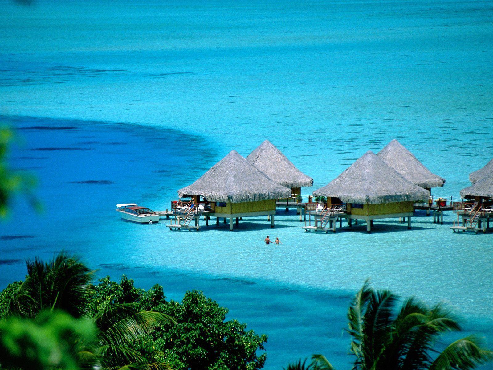 fond d'écran île Bora Bora
