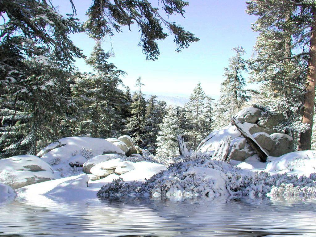Fonds d ecran paysages d hiver page 2 for Fond ecran gratuit hiver noel