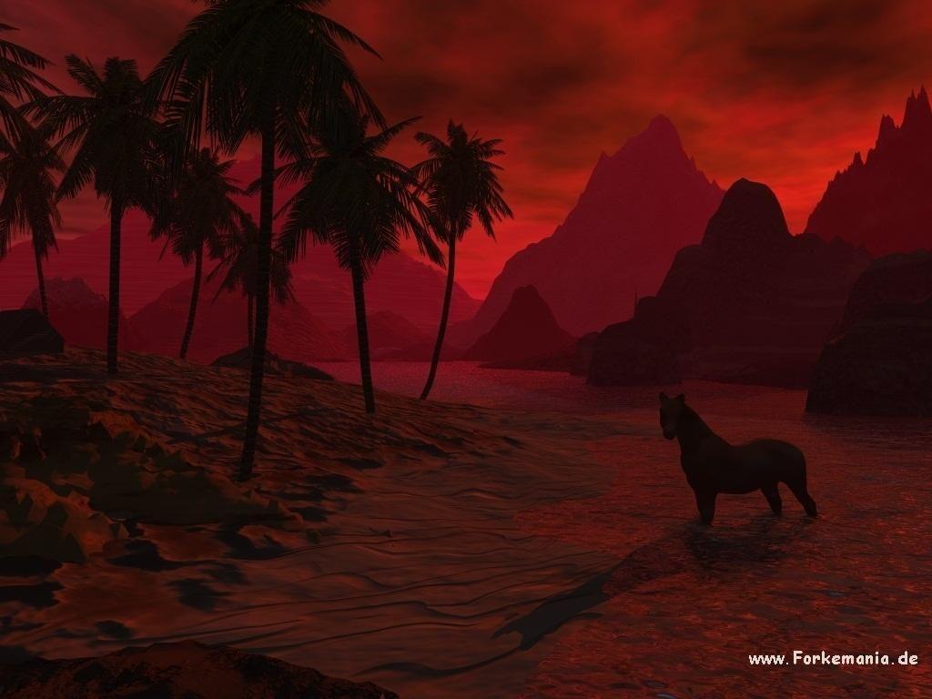 fond d'écran 3D Animaux