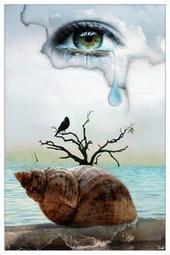 image regard triste