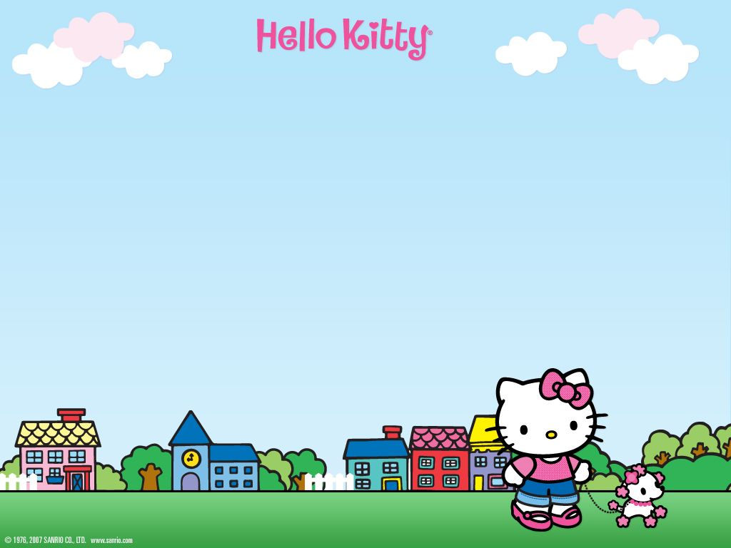 fond d'cran hello kitty