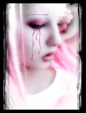 image gothique femme triste