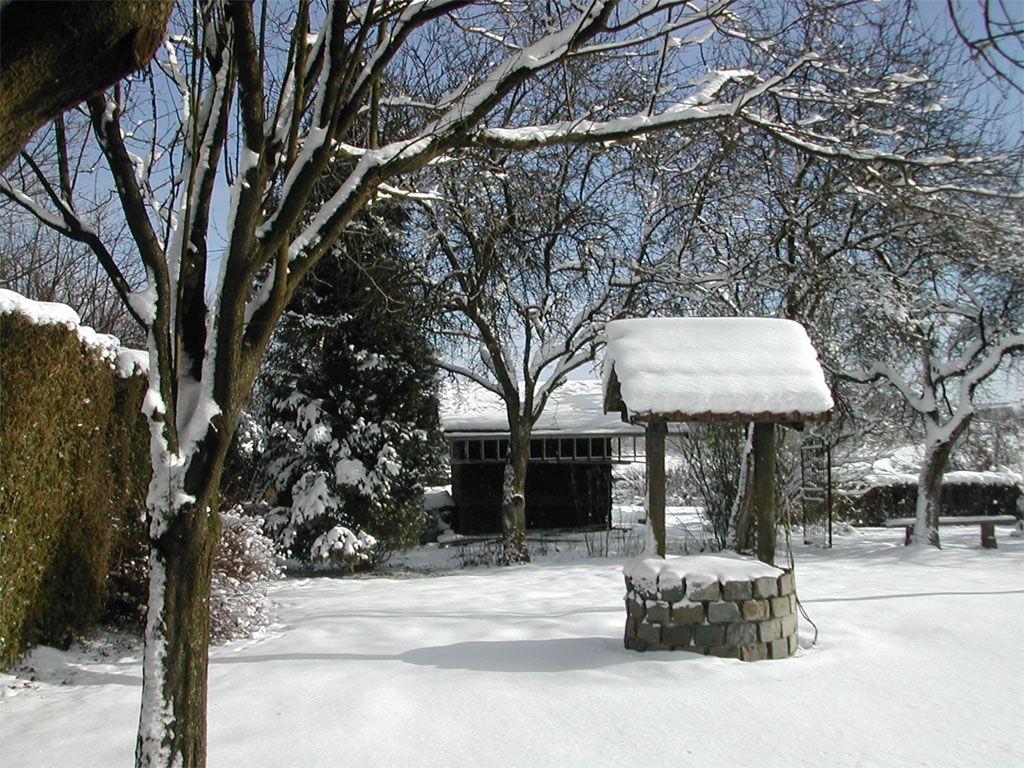 Fonds d ecran paysages d hiver for Jardin japonais fond d ecran