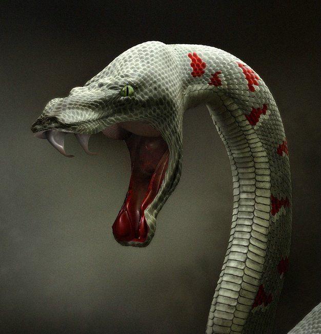 serpent 3D