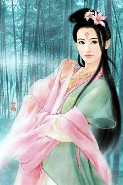 image femme asiatique