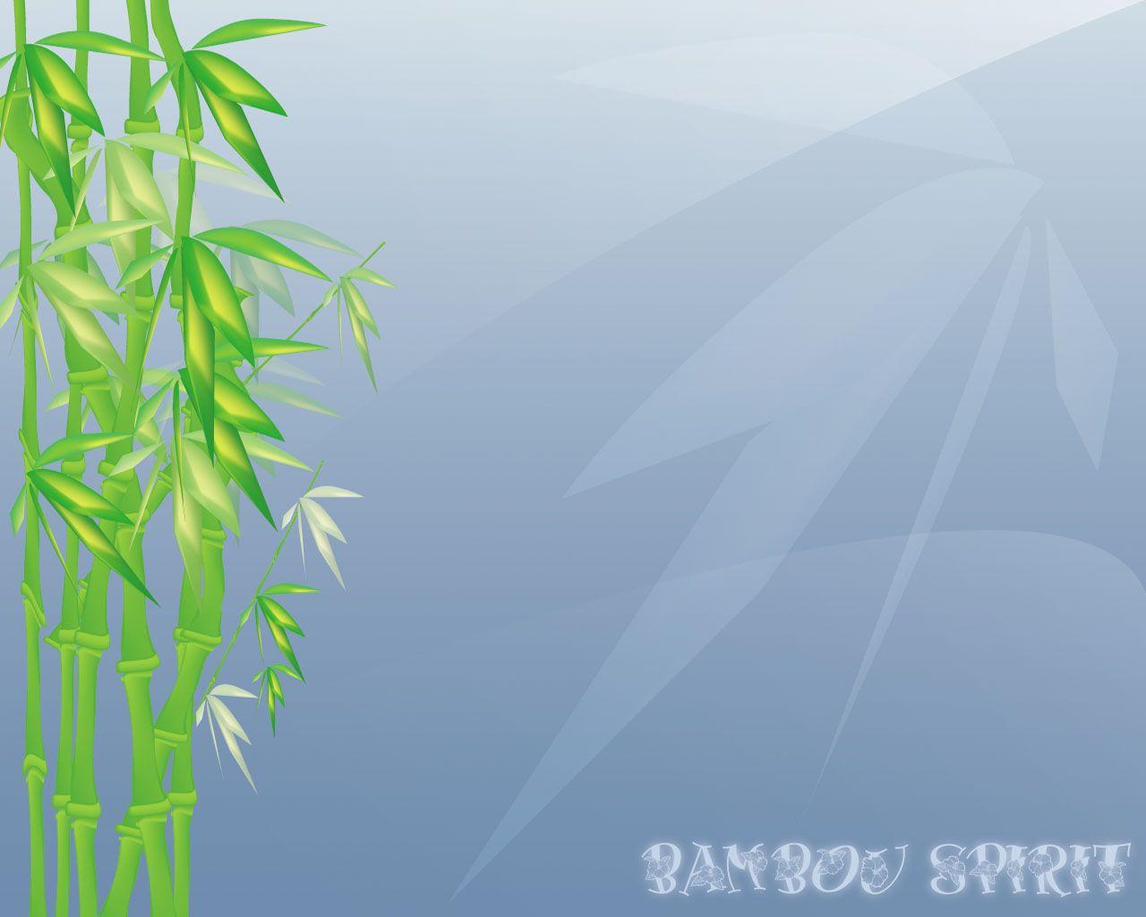fond d'écran bambou spirit