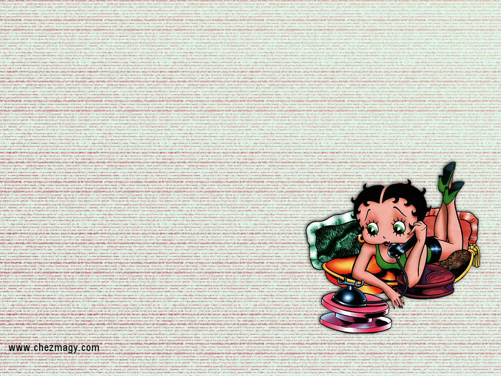 fond d'cran betty boop